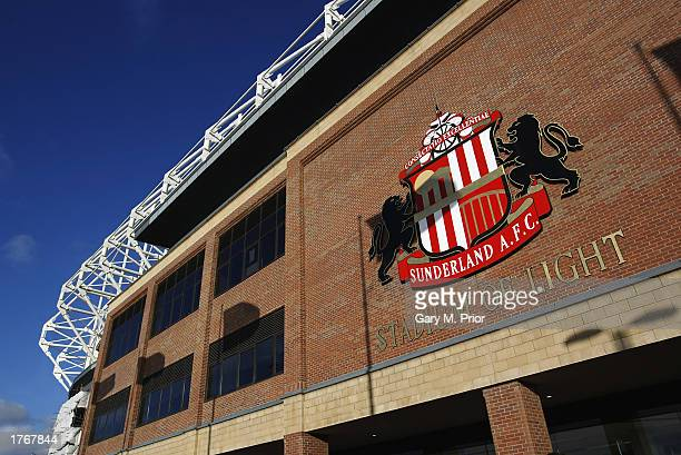 General view of the Stadium of Light during the FA Barclaycard Premiership match between Sunderland and Charlton Athletic held on February 1 2003 at...