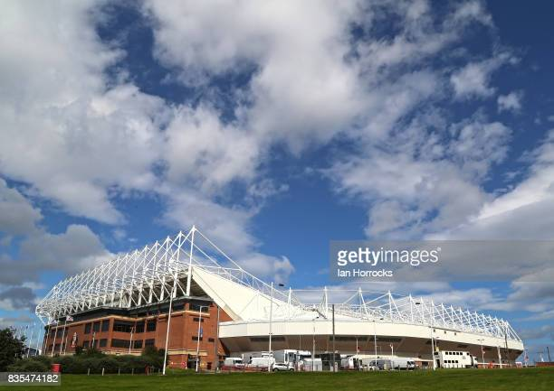 A general view of the Stadium of Light during the Sky Bet Championship match between Sunderland and Leeds United at Stadium of Light on August 19...
