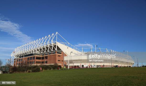 A general view of the Stadium of Light during the Sky Bet Championship match between Sunderland and Birmingham City at Stadium of Light on December...