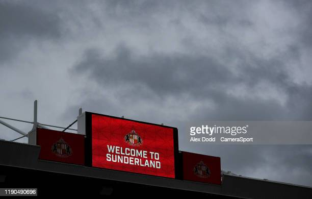 A general view of The Stadium of Light home of Sunderland AFC during the Sky Bet League One match between Sunderland and Bolton Wanderers at Stadium...
