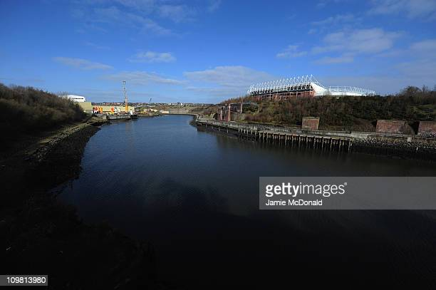 A general view of The Stadium of Light home of Sunderland Football Club on March 6 2011 in Sunderland England