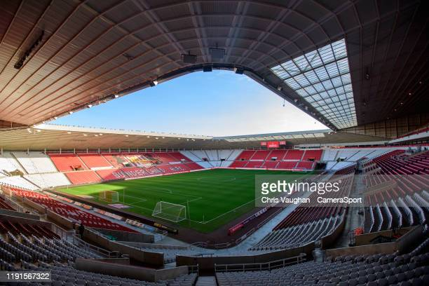 General view of The Stadium Of Light, home of Sunderland prior to the Sky Bet League One match between Sunderland and Lincoln City at Stadium of...