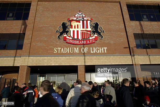 General view of the Stadium of Light taken before the FA Barclaycard Premiership match between Sunderland and Tottenham Hotspur on November 10 2002...