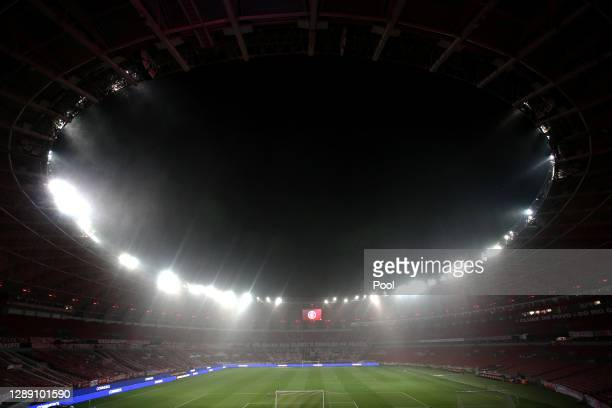 General view of the stadium prior to a round of sixteen first leg match between Internacional and Boca Juniors as part of Copa Conmebol Libertadores...