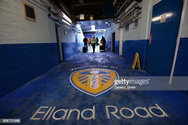 A general view of the stadium prior to kick off in the Sky Bet Championship match between Leeds United and Nottingham Forest on February 6 2016 in...