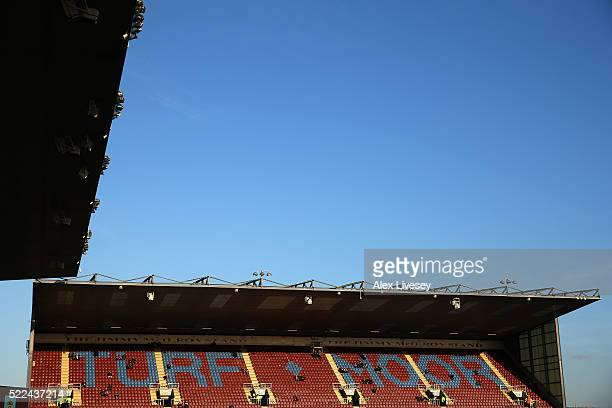 General view of the stadium prior to kickoff during the Sky Bet Championship match between Burnley and Middlesbrough at Turf Moor on April 19, 2016...