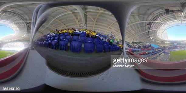 General View of the stadium prior to the 2018 FIFA World Cup Russia group H match between Senegal and Colombia at Samara Arena on June 28 2018 in...