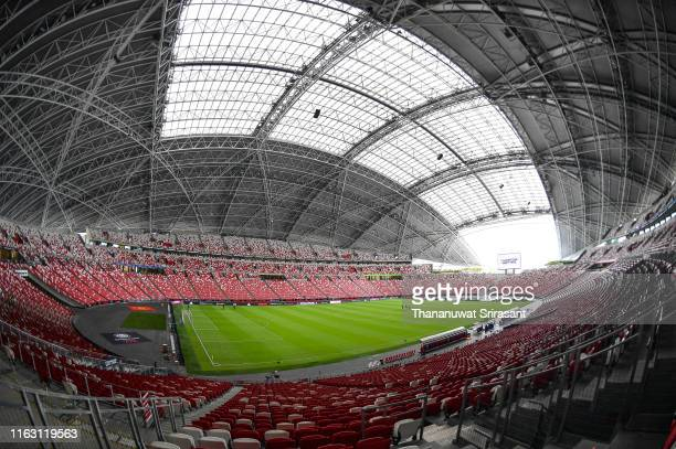 A general view of the stadium prior to the 2019 International Champions Cup match between Manchester United and FC Internazionale at the Singapore...