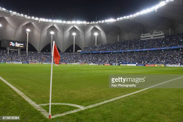 A general view of the stadium prior to the AFC Champions League Final 2017 first leg between AlHilal and Urawa Red Diamonds at King Fahd...