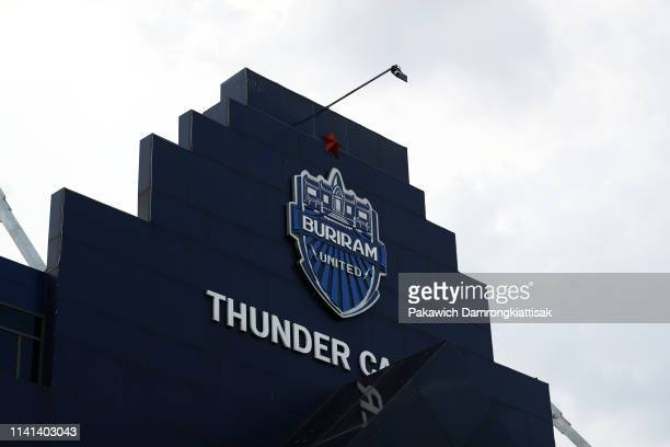 General view of the stadium prior to the AFC Champions League Group G match between Buriram United and Beijing Guoan at Chang Arena on April 9, 2019...