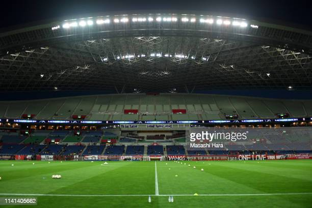 A general view of the stadium prior to the AFC Champions League Group G match between Urawa Red Diamonds and Jeonbuk Hyundai Motors at Saitama...