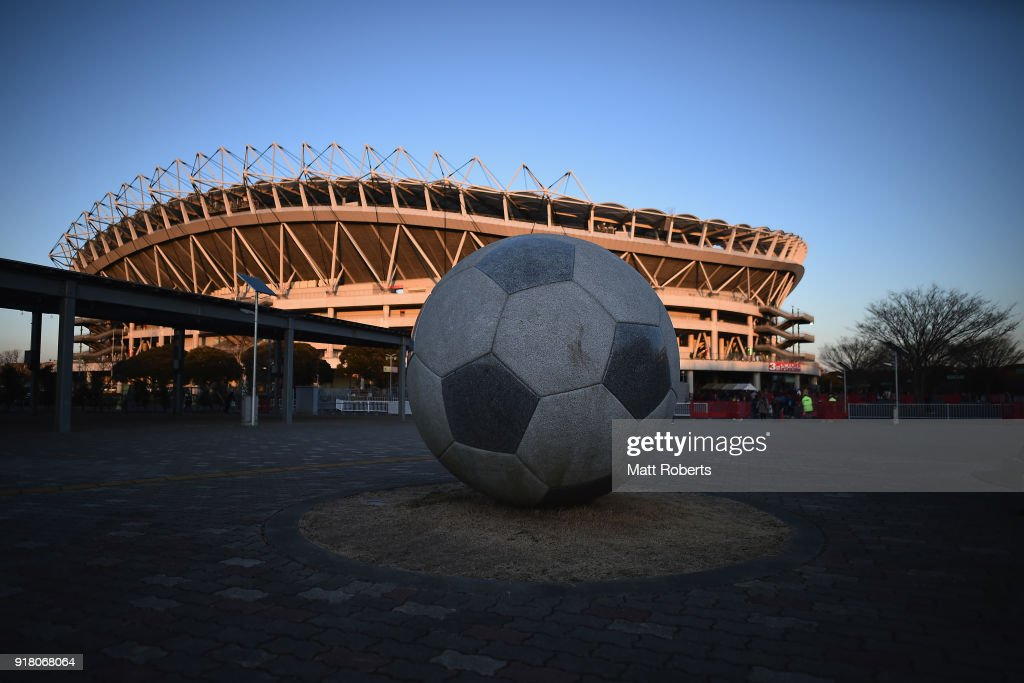 A general view of the stadium prior to the AFC Champions League Group H match between Kashima Antlers and Shanghai Shenhua at Kashima Soccer Stadium on February 14, 2018 in Kashima, Ibaraki, Japan.
