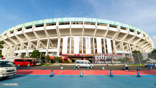 General view of the stadium prior to the AFC Champions League quarter final match between Guangzhou Evergrande and Kashima Antlers at Guangzhou...