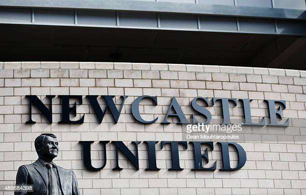 A general view of the stadium prior to the Barclays Premier League match between Newcastle United and Arsenal at St James' Park on August 29 2015 in...