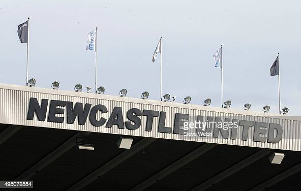 A general view of the stadium prior to the Barclays Premier League match between Newcastle United and Stoke City at St James' Park on October 31 2015...