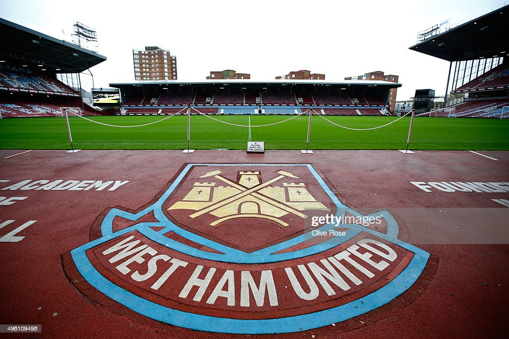 A general view of the stadium prior to the Barclays Premier League match between West Ham United and Everton at Boleyn Ground on November 7, 2015 in London, England.