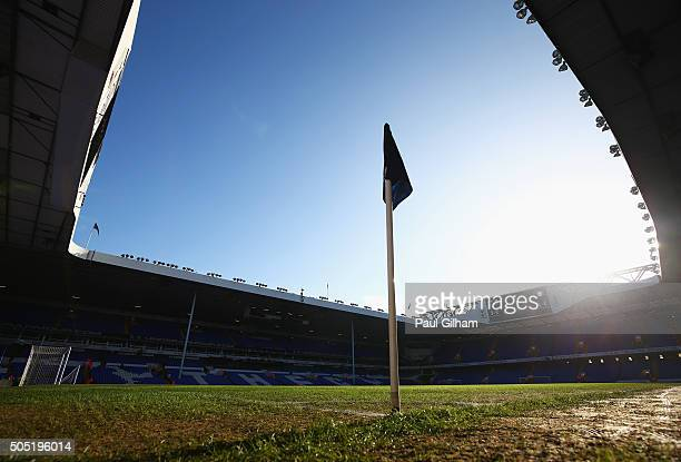 A general view of the stadium prior to the Barclays Premier League match between Tottenham Hotspur and Sunderland at White Hart Lane on January 16...