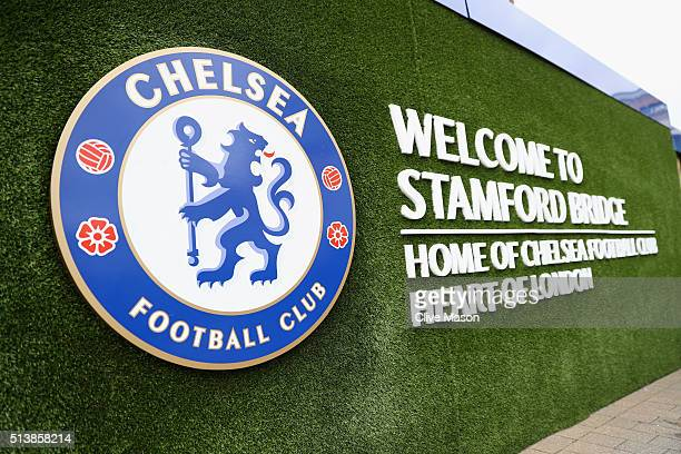 A general view of the stadium prior to the Barclays Premier League match between Chelsea and Stoke City at Stamford Bridge on March 5 2016 in London...