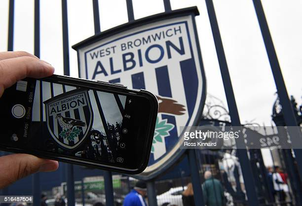 A general view of the stadium prior to the Barclays Premier League match between West Bromwich Albion and Norwich City at The Hawthorns on March 19...