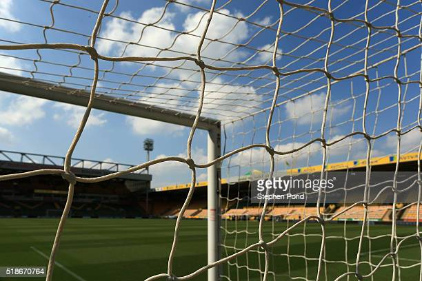 A general view of the stadium prior to the Barclays Premier League match between Norwich City and Newcastle United at Carrow Road on April 2 2016 in...