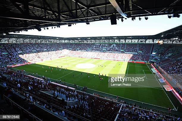 General view of the stadium prior to the Bundesliga match between FC Augsburg and VfL Wolfsburg at WWK Arena on August 27 2016 in Augsburg Germany
