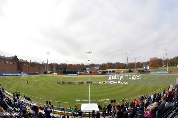 A general view of the stadium prior to the Division III Women's Soccer Championship game between Williams College and the University of Chicago held...