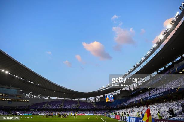 A general view of the stadium prior to the FIFA Club World Cup UAE 2017 fifth place playoff match between Wydad Casablanca and Urawa Reds on December...