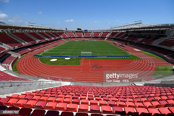 General view of the stadium prior to the FIFA U17 World Cup Chile 2015 semi final match between Mali and Belgium at Estadio La Portada on November 5...