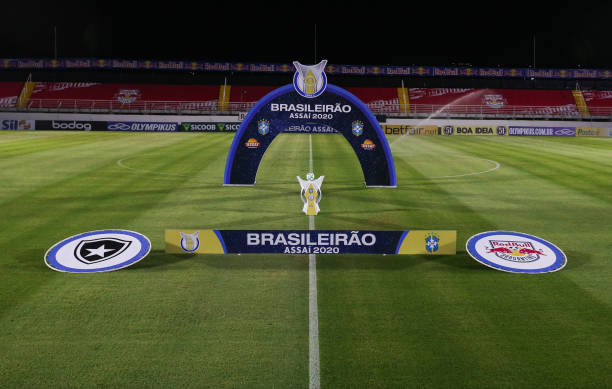 BRA: 2020 Brasileirao Series A: Red Bull Bragantino v Botafogo Play Behind Closed Doors Amidst the Coronavirus (COVID - 19) Pandemic