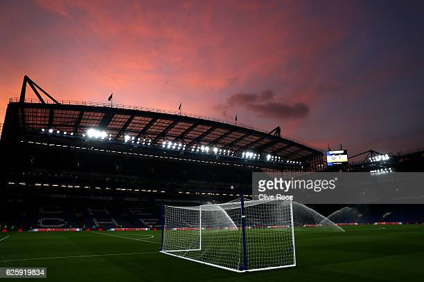 A general view of the stadium prior to the Premier League match between Chelsea and Tottenham Hotspur at Stamford Bridge on November 26 2016 in...