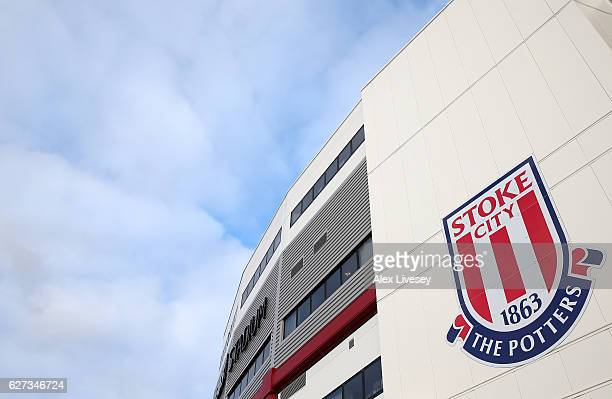 A general view of the stadium prior to the Premier League match between Stoke City and Burnley at Bet365 Stadium on December 3 2016 in Stoke on Trent...