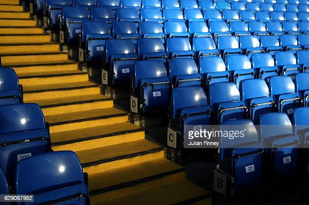 A general view of the stadium prior to the Premier League match between Chelsea and West Bromwich Albion at Stamford Bridge on December 11 2016 in...