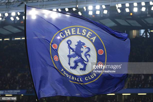 A general view of the stadium prior to the Premier League match between Chelsea and Hull City at Stamford Bridge on January 22 2017 in London England