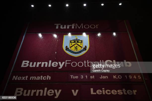 A general view of the stadium prior to the Premier League match between Burnley and Leicester City at Turf Moor on January 31 2017 in Burnley England