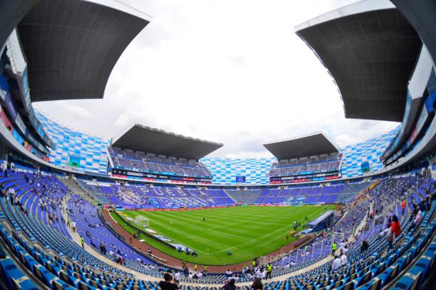 MEX: Puebla v Atlas - Playoffs Torneo Guard1anes 2021 Liga MX