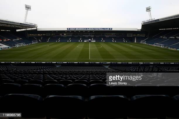 General view of the stadium prior to the Sky Bet Championship match between West Bromwich Albion and Leeds United at The Hawthorns on January 01,...