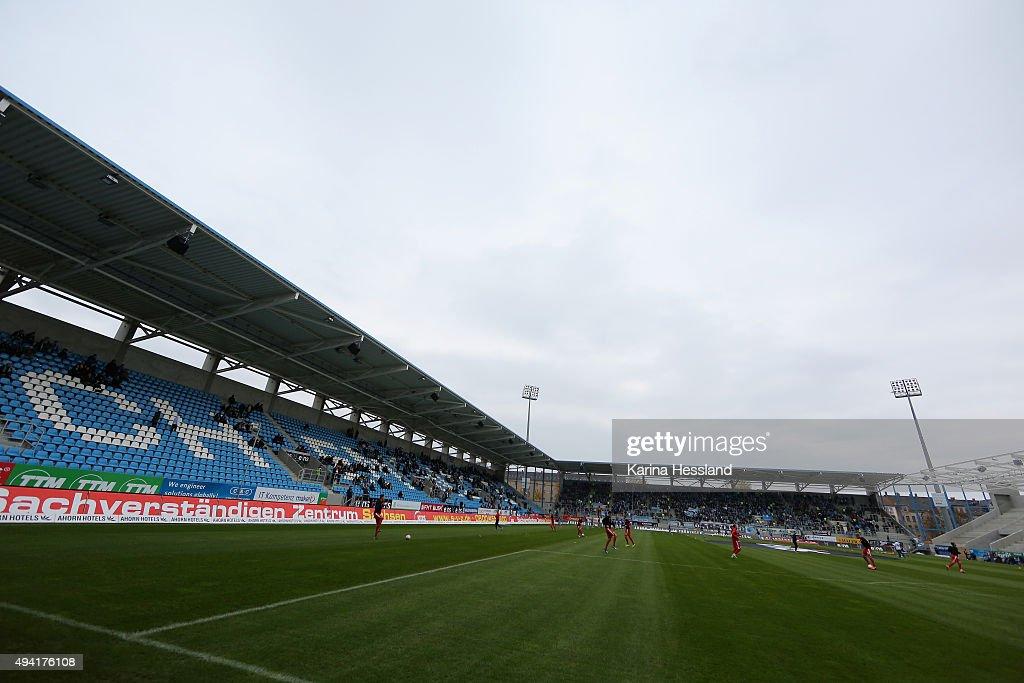Chemnitzer FC v Hallescher FC  - 3. Liga : News Photo