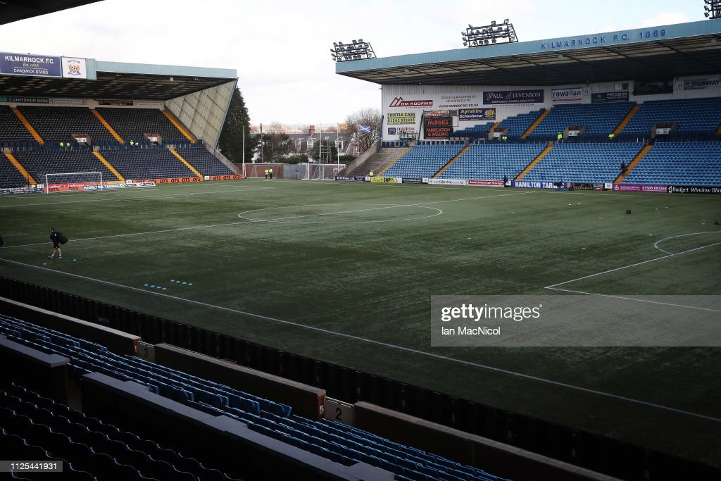 GBR: Kilmarnock v Celtic - Scottish Ladbrokes Premiership