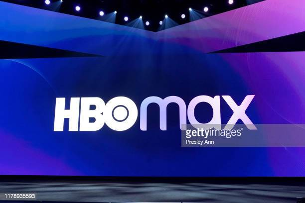 A general view of the stage at HBO Max WarnerMedia Investor Day Presentation at Warner Bros Studios on October 29 2019 in Burbank California