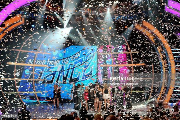 General view of the stage at the So You Think You Can Dance finale held at the Kodak Theater on August 6 2009 in Hollywood California