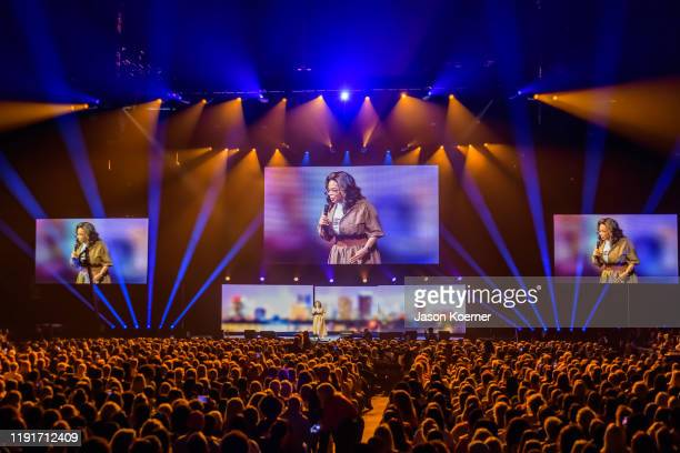 General view of the stage during Oprah's 2020 Vision Your Life in Focus Tour presented by WW at BBT Center on January 4 2020 in Sunrise Florida