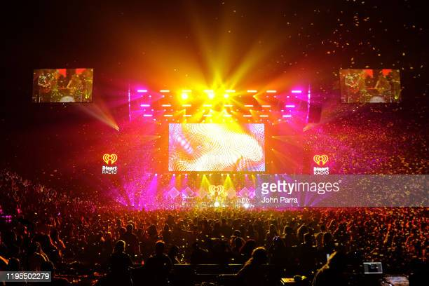 General view of the stage during Y100's Jingle Ball 2019 Presented by Capital One at BB&T Center on December 22, 2019 in Sunrise, Florida.