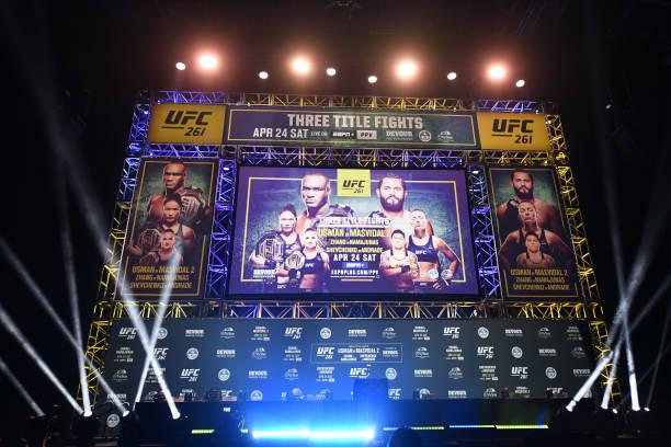FL: UFC 261 Press Conference