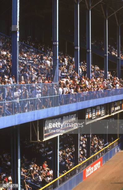 General view of the stands at Tiger Stadium prior to the final baseball game played at the 87 year old Tiger Stadium as the Detroit Tigets host the...