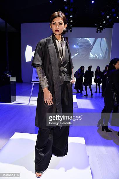 A general view of the Star Wars Presentation during World MasterCard Fashion Week Spring 2016 at David Pecaut Square on October 21 2015 in Toronto...