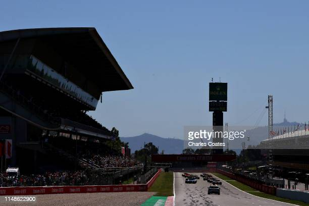 A general view of the start during the F1 Grand Prix of Spain at Circuit de BarcelonaCatalunya on May 12 2019 in Barcelona Spain