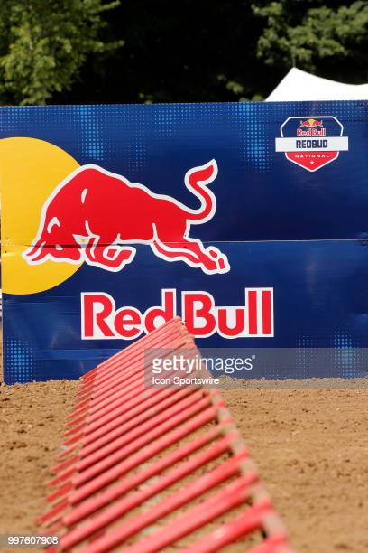 A general view of the starting line during the Red Bull Redbud National MX race on July 07 at Redbud National in Buchanan MI