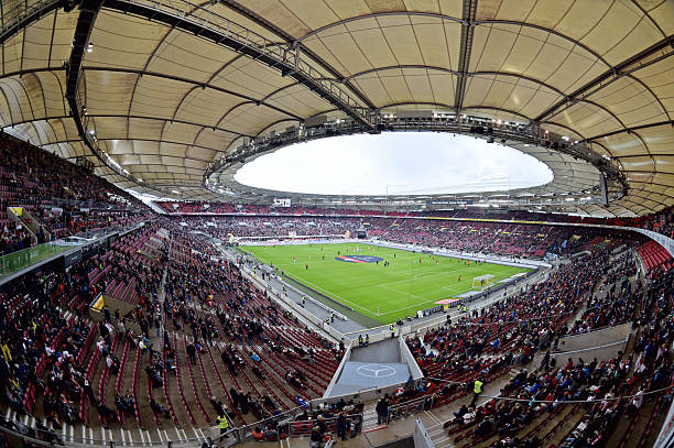 Germany vs Norway will take place at the Mercedes-Benz Arena in Stuttgart, Germany. (Photo by Thomas Starke/Bongarts/Getty Images)