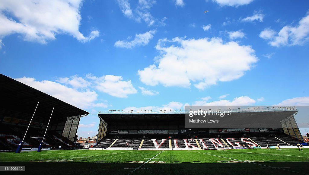 General Views of Rugby Stadiums : News Photo