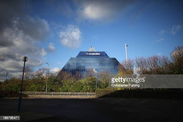 A general view of the Stockport Pyramid Cooperative Bank customer service centre on November 4 2013 in Stockport United Kingdom The Cooperative Bank...
